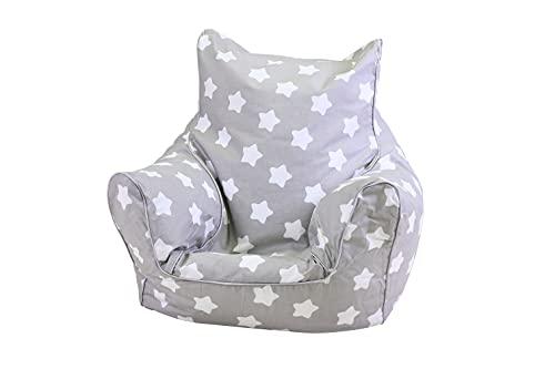 KNORRTOYS.COM 68211 Knorrtoys 68211-Kindersitzsack-Stars White Kindersitzsack*