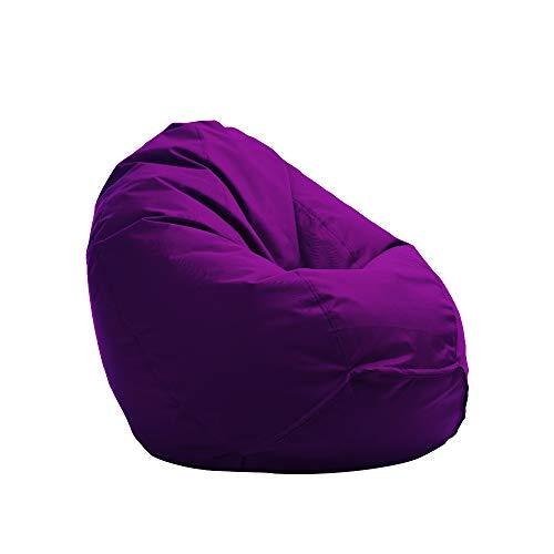 Bruni Kinder-Sitzsack Classico S in Violett – Sitzsack für Kinder mit Innensack, Abnehmbarer...*