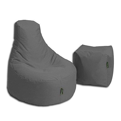 BuBiBag Sitzsack Stillkissen Set Kissen Lounge Gamer Sitzsack Sessel original Sitzkissen In &...*