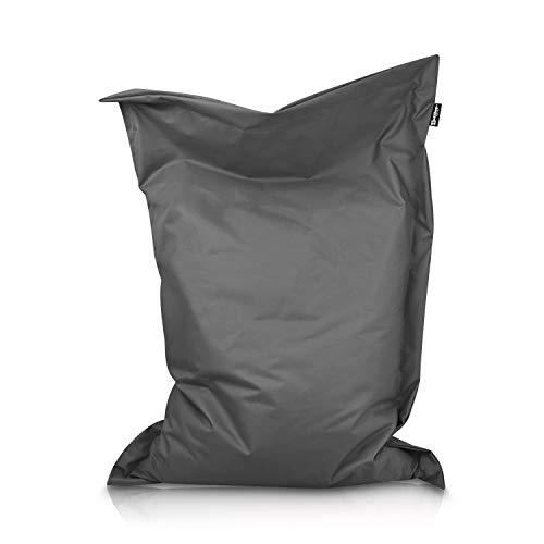 BuBiBag Sitzsack Beanbag rechteckige Bodenkissen 32 Farben & 11 Größen Indoor Outdoor Sitzsäcke...*