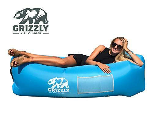 Grizzly Luftsofa Luftsack, Aufblasbarer Wasserdichter Air Lounger, Aufblasbare Liege, Aufblasbarer...*