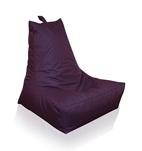 Mesana XXL Lounge-Sessel, ca. 100x90x80 cm, Sitzsack für Outdoor & Indoor, wasserabweisend, viele...*