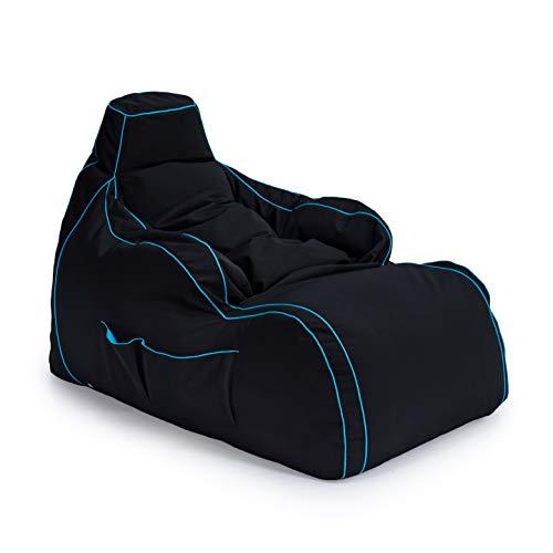 Game Over Videospiel Sitzsack Liegestuhl | Wohnzimmer | Seitentaschen für Controller |...*