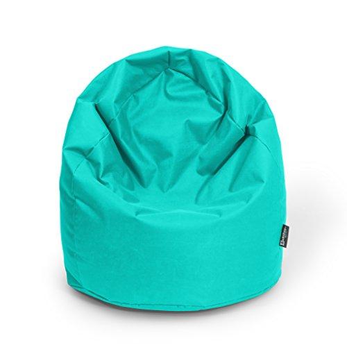 BuBiBag Sitzsack Tropfenform Beanbag Sitzkissen für In & Outdoor XL 300 Liter bis XXXL 470L mit...*