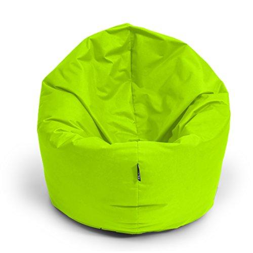 BuBiBag Sitzsack 2-in-1 Funktionen mit Füllung Sitzkissen Bodenkissen Kissen Sessel BeanBag (100 cm...