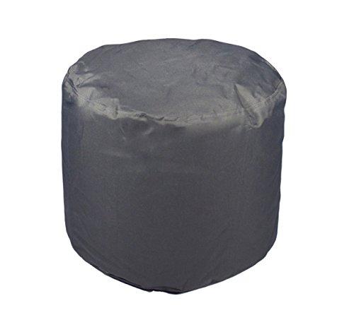 Kinzler S-10118/117 Sitzhocker rund, ca. Ø50 x H40 cm, Outdoor & Indoor, Sitzsack in vielen...*