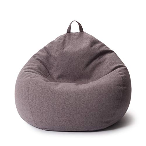 Lumaland Comfort Line XL Sitzsack Indoor - 90x110x50 cm - Bodenkissen, Bean Bag Chair - 250 L - EPS...