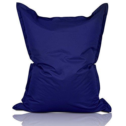 Lumaland Luxury Riesensitzsack XL Sitzsack 270l Füllung 120 x 160 cm Indoor Outdoor Dunkelblau*