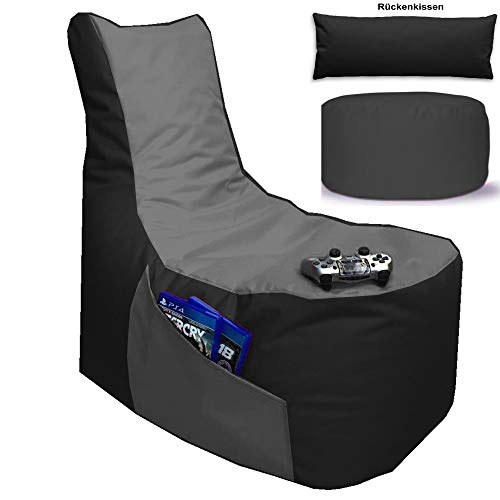 Sitzsack 3er-Set Big Gamer Sessel