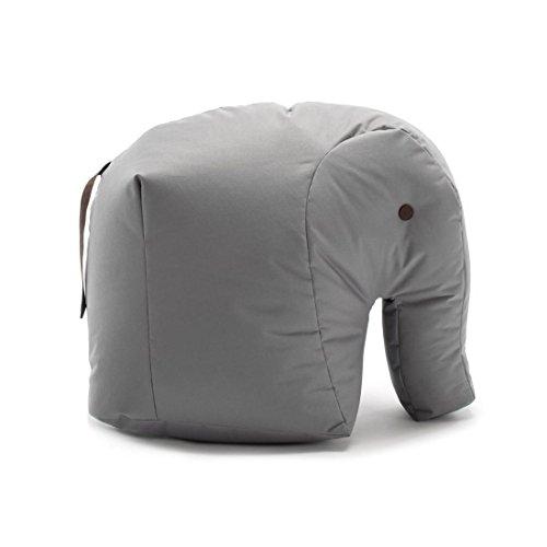 Sitting Bull 190114 Happy Zoo Carl Elefant Sitzsack, grau 100% Polyester beschichtet LxBxH...*